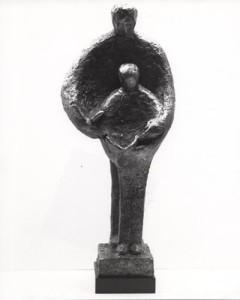 CONTINUITY Bonded bronze, 8'5″ x 5′ x 5′