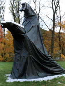 MOSES steel, fiberglass, resin, and vinyl-coated nylon 20′ x 12′ x 12′